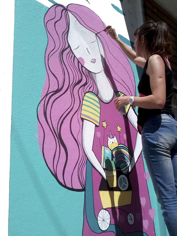 AMARTE ASI mural