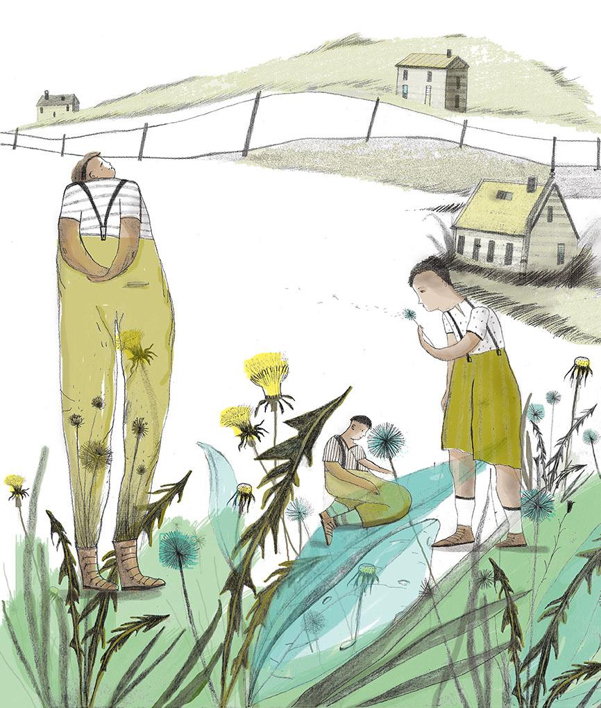 Bradbury Ilustrado. Verano de 1928